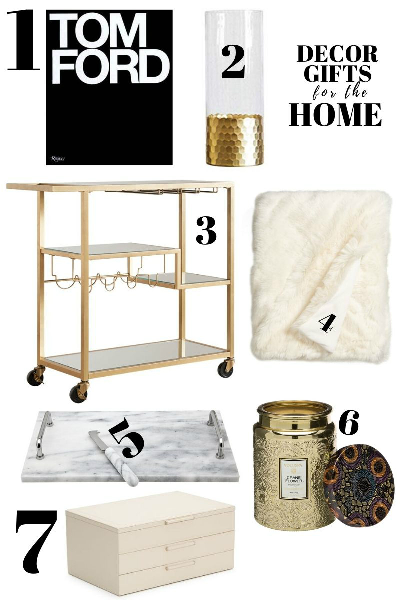 2019 Holiday Gift Guide - Decor Gifts for the Home