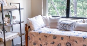 Interior Inspirations - Cozy Coastal Beach Themed Guest Room Decor Ideas