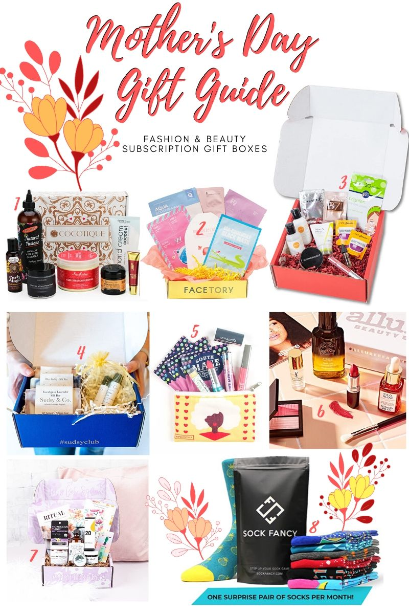 Mother's Day Gift Guide - Subscription Gift Boxes