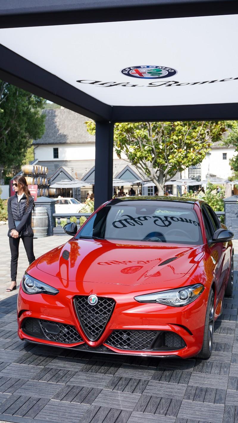 Alfa-Romeo Giulia at Monterey Car Week