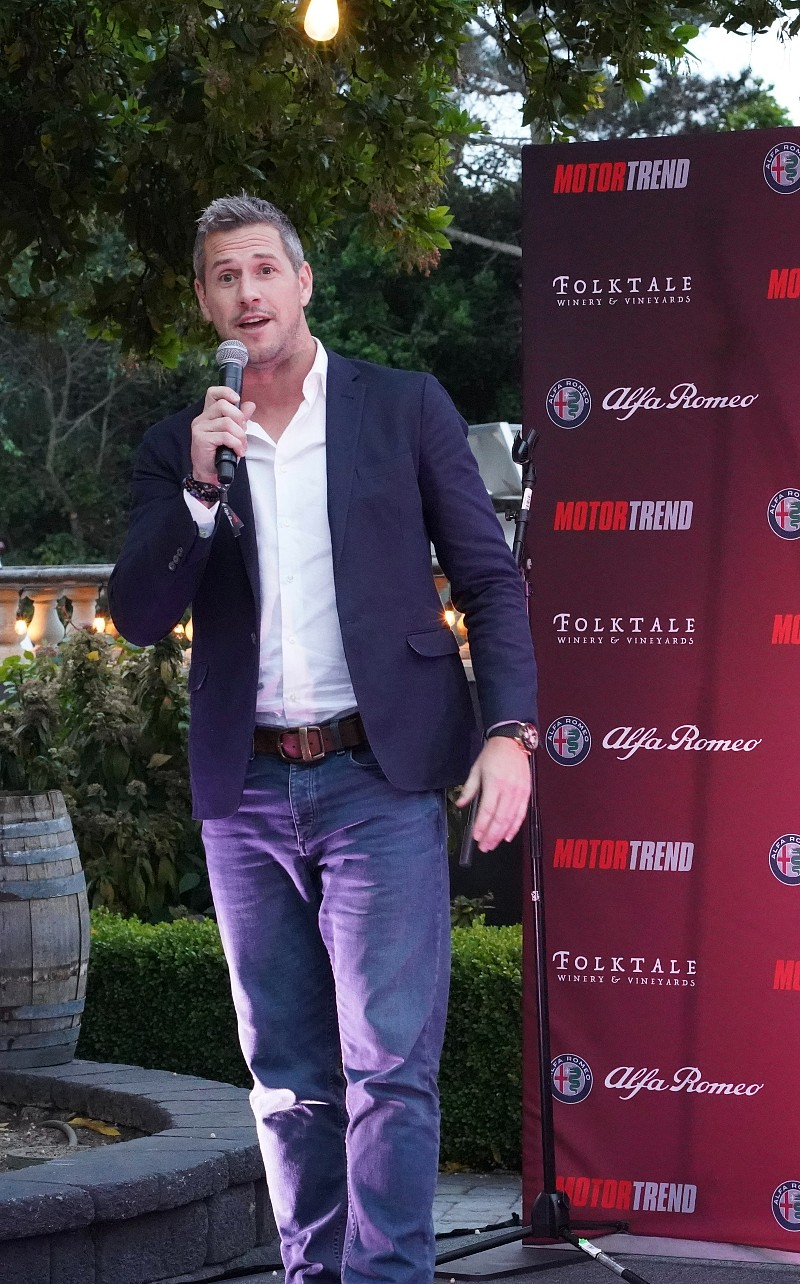 Ant Anstead at MotorTrend Alfa-Romeo Party Monterey Car Week