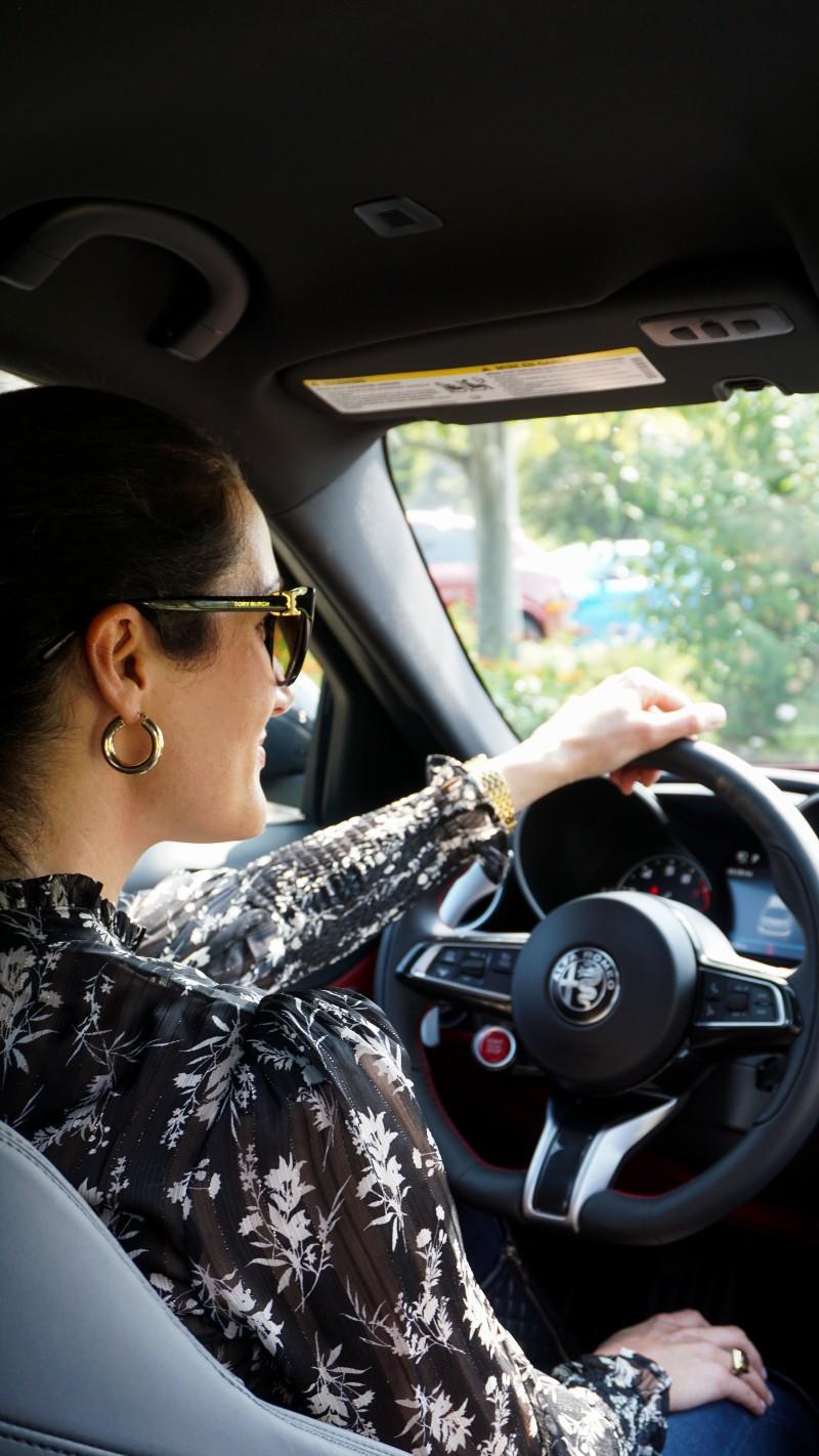 Christina-Lauren Pollack - Alfa-Romeo at Monterey Car Week