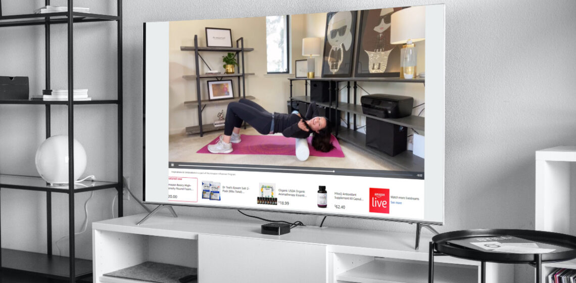 Health and Fitness Amazon Live Streams with Christina-Lauren Pollack